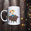Чашка с принтом - Пастух