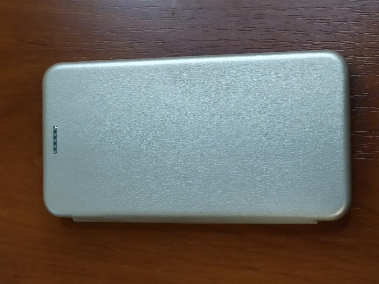 Чохол - книга Premium для Samsung A01 2020 (золотистий)