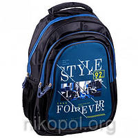 "Рюкзак школьный California ""M"" Style 92 Forever, ортопедический, 42х29х16см."