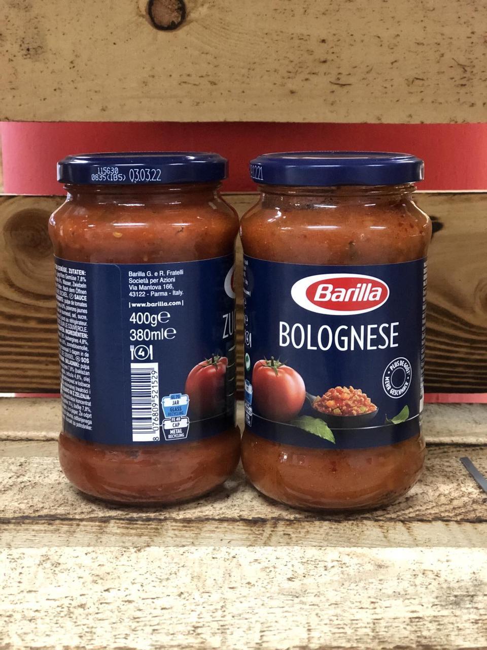 Соус Barilla Bolognese 400г