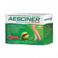 AESCINER - лечение варикозного расширения вен, боли, судорог, 60 кап.