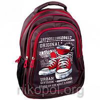 """Рюкзак школьный California """"M"""" Кеды Original, ортопедический, 42х29х16см."""