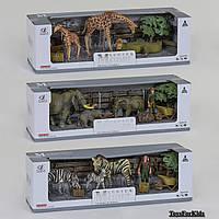 Набор животных Q 9899 D-2 3 вида, в коробке