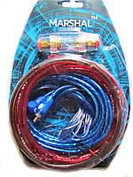 Комплект проводов для сабвуфера Marshal M8   провода для подключения усилителя для сабвуфера