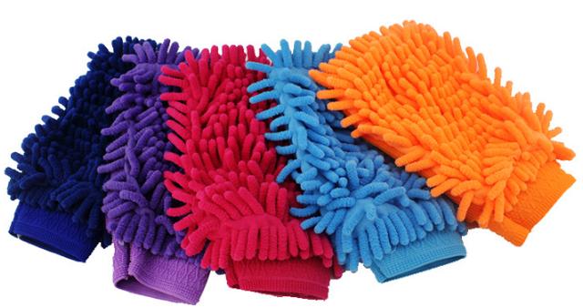 Перчатка из микрофибры для мойки вело / авто