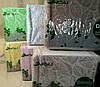 Плед покрывало на кровать Евро Aksu embos 220х240 см Салатовый, фото 9