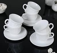"""Набір чайний 220 мл Trianon """"Е8845"""" Luminarc 12 предметний."""