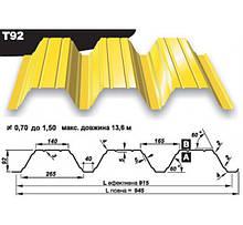 Профнастил Т 92 • 0,88 мм ZN • Прушински •