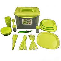 Столовый набор для пикника Picnic Package 55 предметов (55 OM)