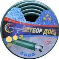 """Шланг поливочный """" Метеор"""" (черно-зеленый) 3/4 30м."""