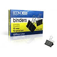 "Биндер для бумаг ""Economix"" 19 мм."