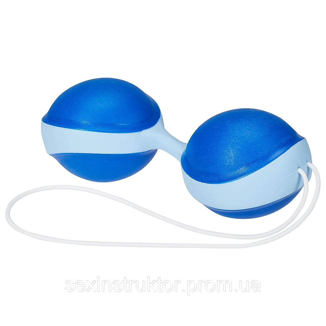 Вагінальні кульки - Amor Gym Balls, синій/блакитний