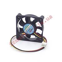 Вентилятор 50х50х10мм 24В (3 провода), фото 1