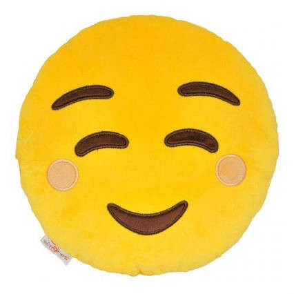 """Подушка эмоджи """"Smile"""" ПД-0314"""