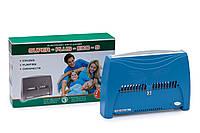 Ионизатор очиститель воздуха Супер-Плюс ЭКО-С голубой