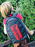 Supreme рюкзак молодежный, фото 3