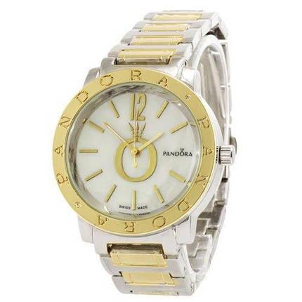 Наручний годинник Pandora 6301-6 Silver-Gold-White, фото 2