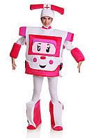Робокар Эмбер женский карнавальный костюм \ размер универсальный \ BL - ВЖ282