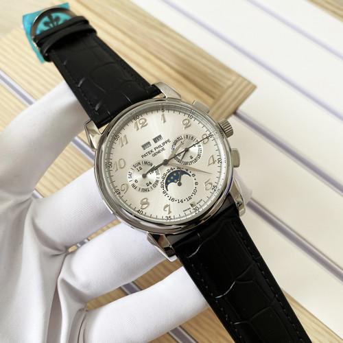Наручные часы LUX класса Patek Philippe Geneve Silver-Black