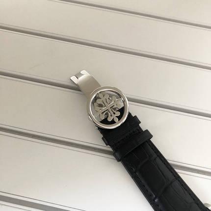Наручные часы LUX класса Patek Philippe Geneve Silver-Black, фото 2