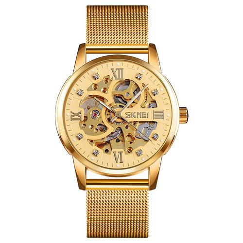 Оригінальні наручні годинники Skmei 9199 All Gold   Оригінал Скмей, Гарантія 1 рік!