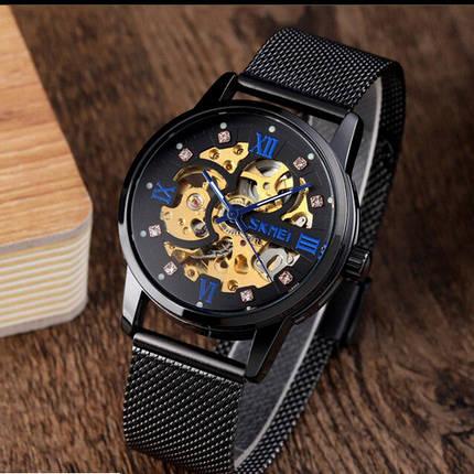 Оригинальные наручные часы Skmei 9199 All Black | Оригинал Скмей, Гарантия 1 год!, фото 2
