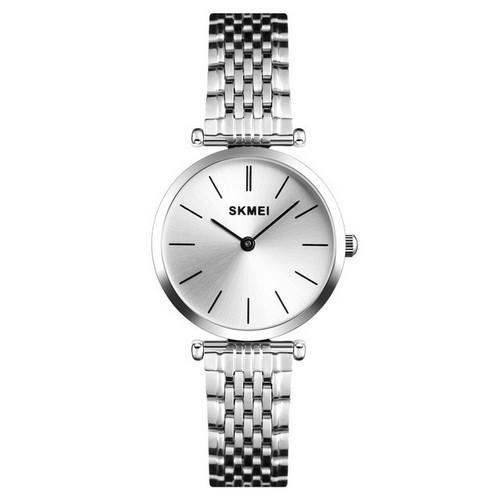 Оригінальні наручні годинники Skmei 1458 Silver-White | Оригінал Скмей, Гарантія 1 рік!