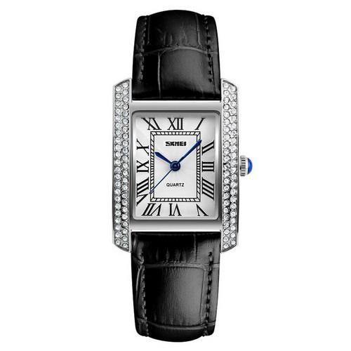 Оригінальні наручні годинники Skmei 1281 Black-Silver   Оригінал Скмей, Гарантія 1 рік!