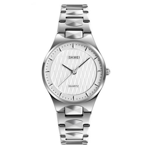 Оригинальные наручные часы Skmei 1282 All Silver | Оригинал Скмей, Гарантия 1 год!