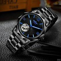 Оригінальні наручні годинники Winner W8116 Black-Blue   Оригінал, фото 3