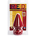 Анальна пробка Doc Johnson Red Boy - XL Butt Plug The Challenge, діаметр 10см, фото 2
