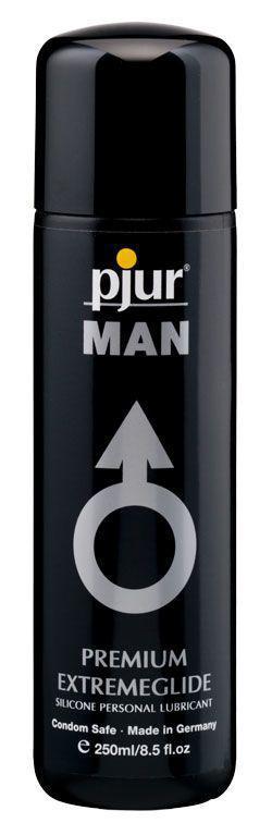 Густа силіконова змазка pjur MAN Premium Extremeglide 250 мл з тривалим ефектом, економна