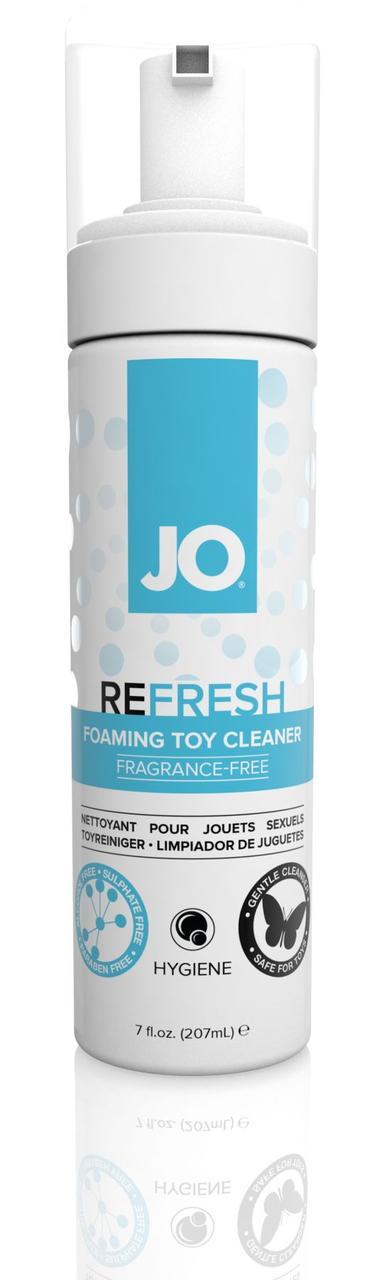 М'яка пінка для очищення іграшок System JO REFRESH (207 мл) дезінфікуюча, проникає глибоко