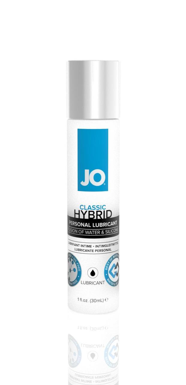 Густая смазка водно-силиконовая System JO Classic Hybrid (30 мл) без парабенов, глицерина и масел