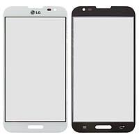 Защитное стекло корпуса для LG Optimus G Pro E980/E988, оригинал (белый)
