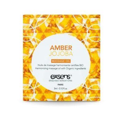 Пробник массажного масла EXSENS Amber Jojoba 3мл