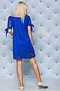 """Нежное кружевное летнее женское платье с завязками на рукавах """"Филиппин"""", фото 7"""
