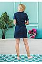 """Стильное молодежное летнее женское льняное платье больших размеров """"Филлисе"""", фото 6"""
