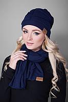 Комплект шапка+шарф №141, фото 1