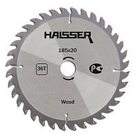 Пильный диск по дереву Haisser 185*20*36Т