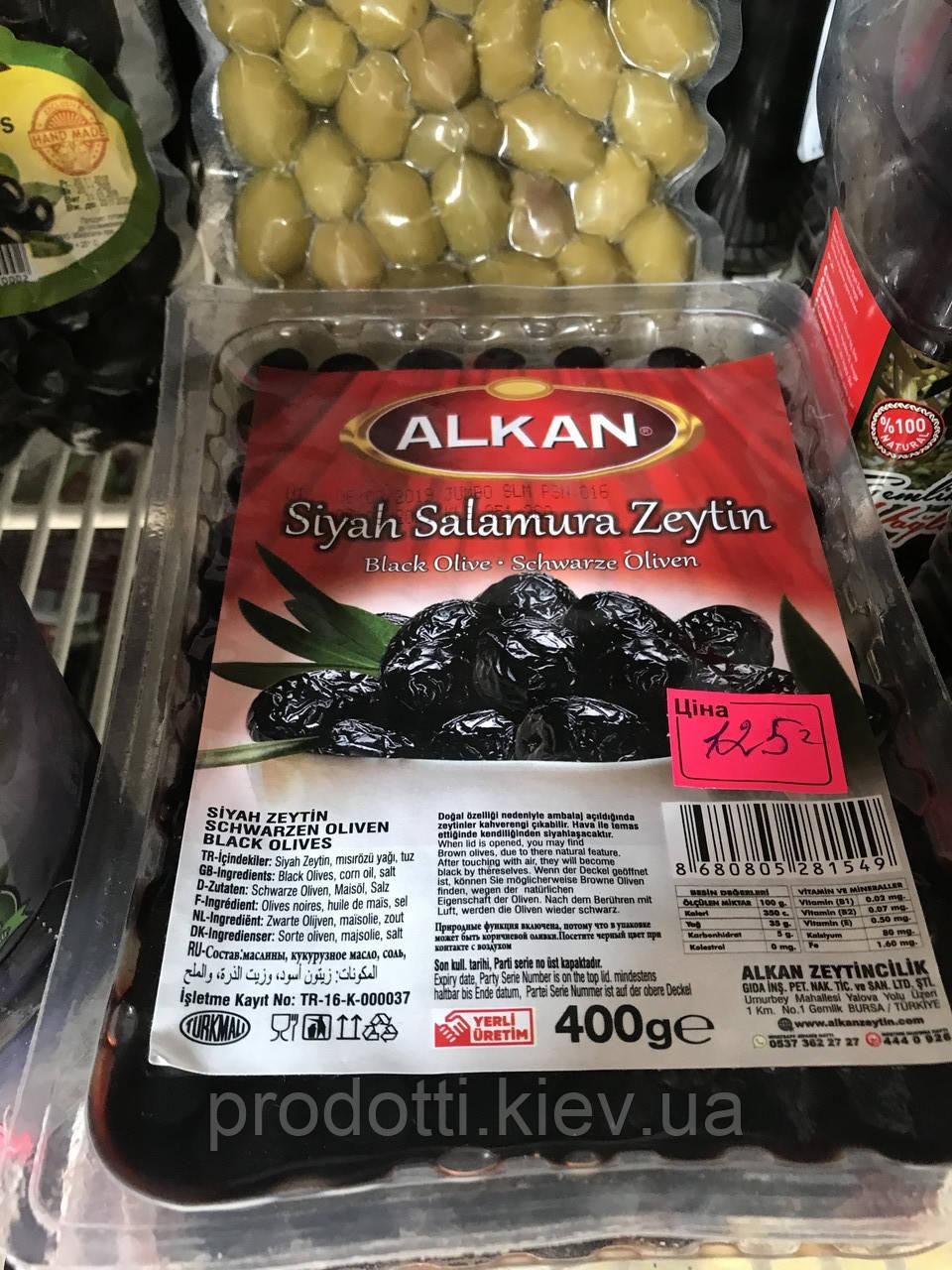 Маслины вяленые в масле 400г Alkan