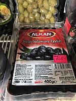 Маслини вялені в олії 400г Alkan