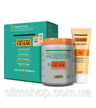 GUAM Антицеллюлитный набор для тела маска + гель