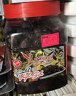 В'ялені маслини з кісточкою Yunus Black Gold, 850 грам