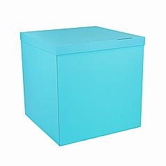 Коробка-сюрприз 700*700*700мм мятная без печати (незначительный брак)