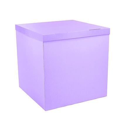 Коробка-сюрприз 700*700*700мм сиреневая без печати (значительный брак), фото 2