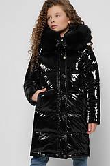 Детская зимняя лаковая куртка X-Woyz 8306 размеры 110- 164