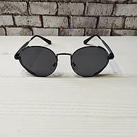 Модные круглые солнцезащитные очки черные для стиля, качественные унисекс солнцезащитные очки Polaroid