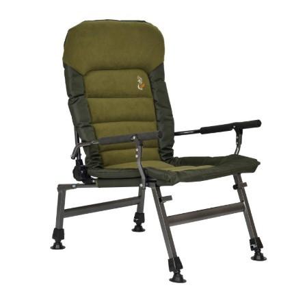 Кресло карповое рыбацкое Elektrostatyk FK6 усилинное, комфортное. Нагрузка 150кг/max