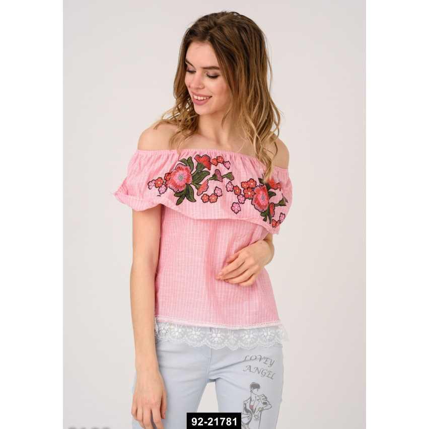 Женская блуза, L-S международный размер, 92-21781
